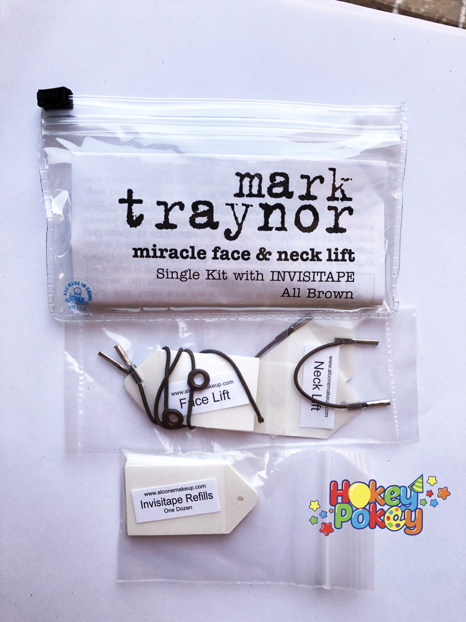Picture of Mark Traynor Miracle Face & Neck Lift (Single kit with invisitape ) - Brown