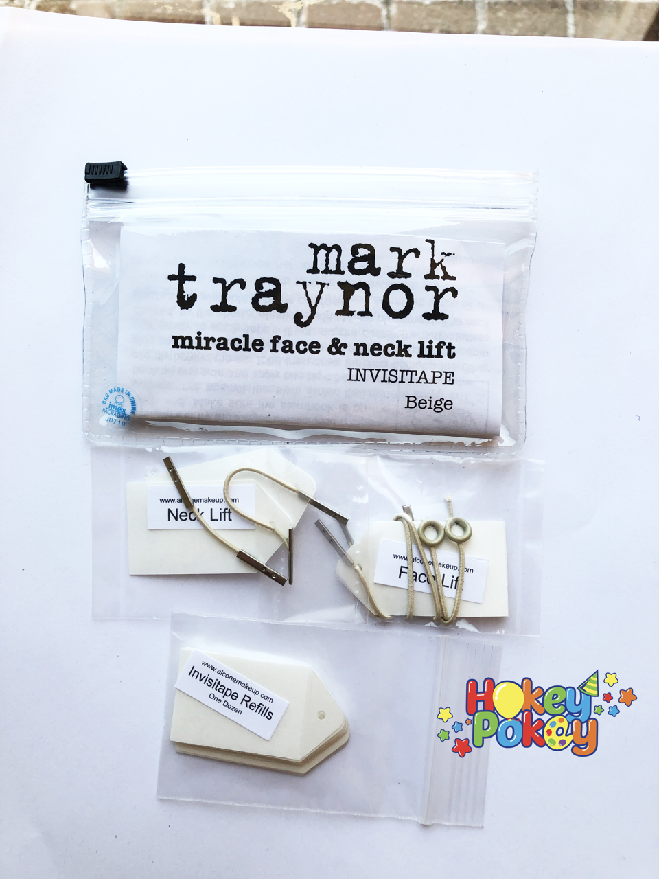 Picture of Mark Traynor Miracle Face & Neck Lift (Single kit with invisitape ) - Beige